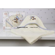 "Полотенце-конверт ""KARNA"" детский BAMBINO-TEDDY 90x90 1/1"
